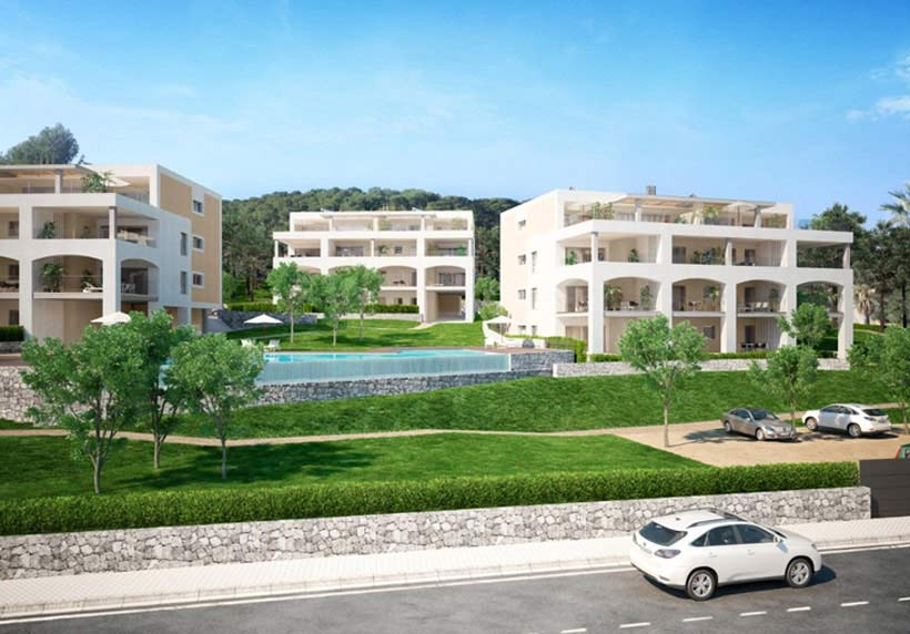 wohnungen zu kaufen Santa Ponsa residencial
